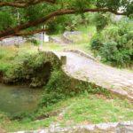 当山の石畳道