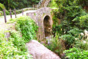 安波茶橋と石畳道