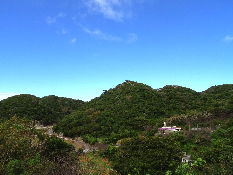 山里の円錐カルスト(本部富士)
