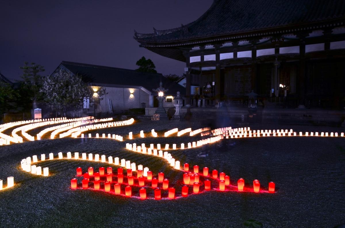 叡福寺『太子聖燈会』