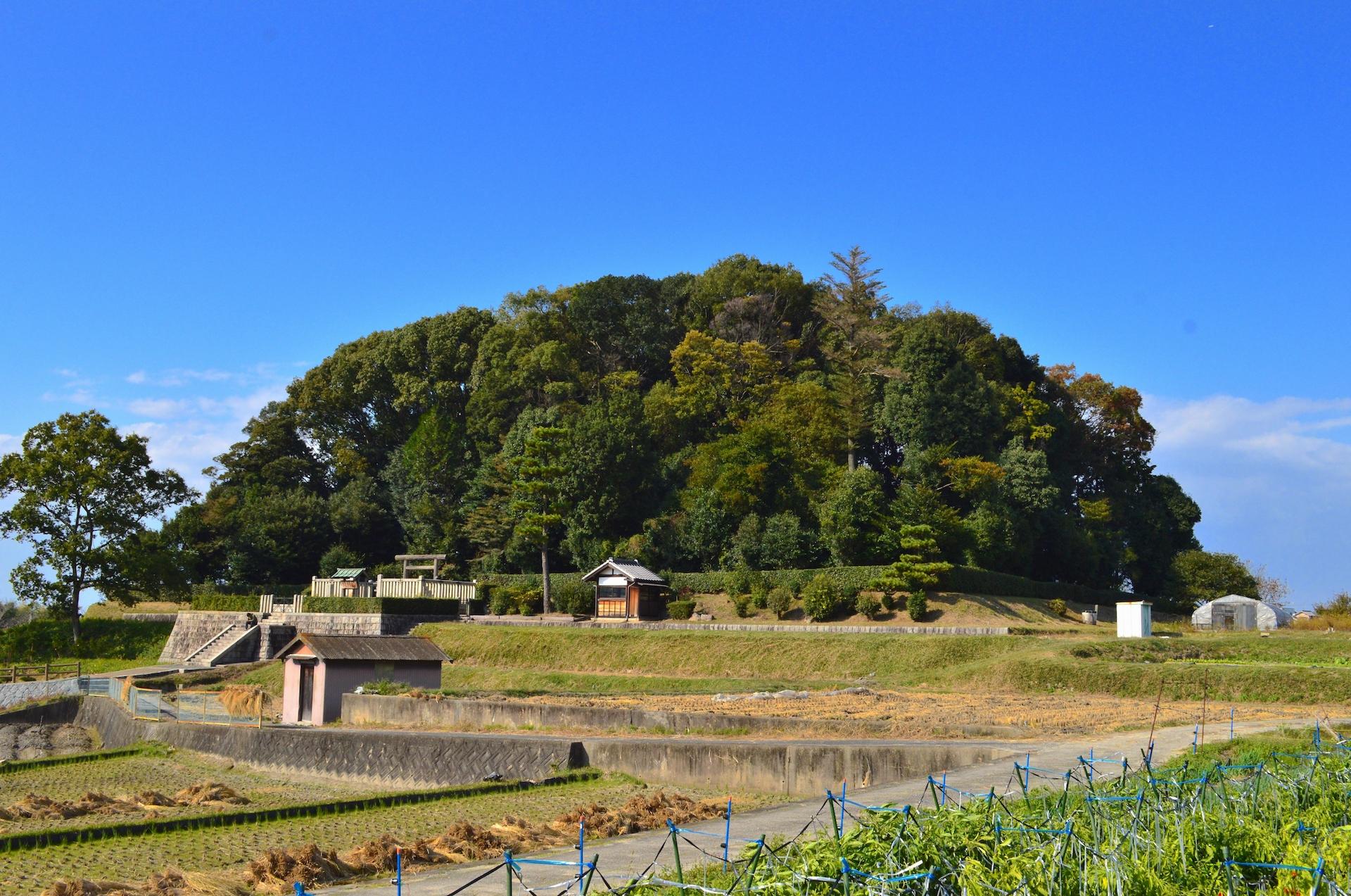 山田高塚古墳(推古天皇陵)