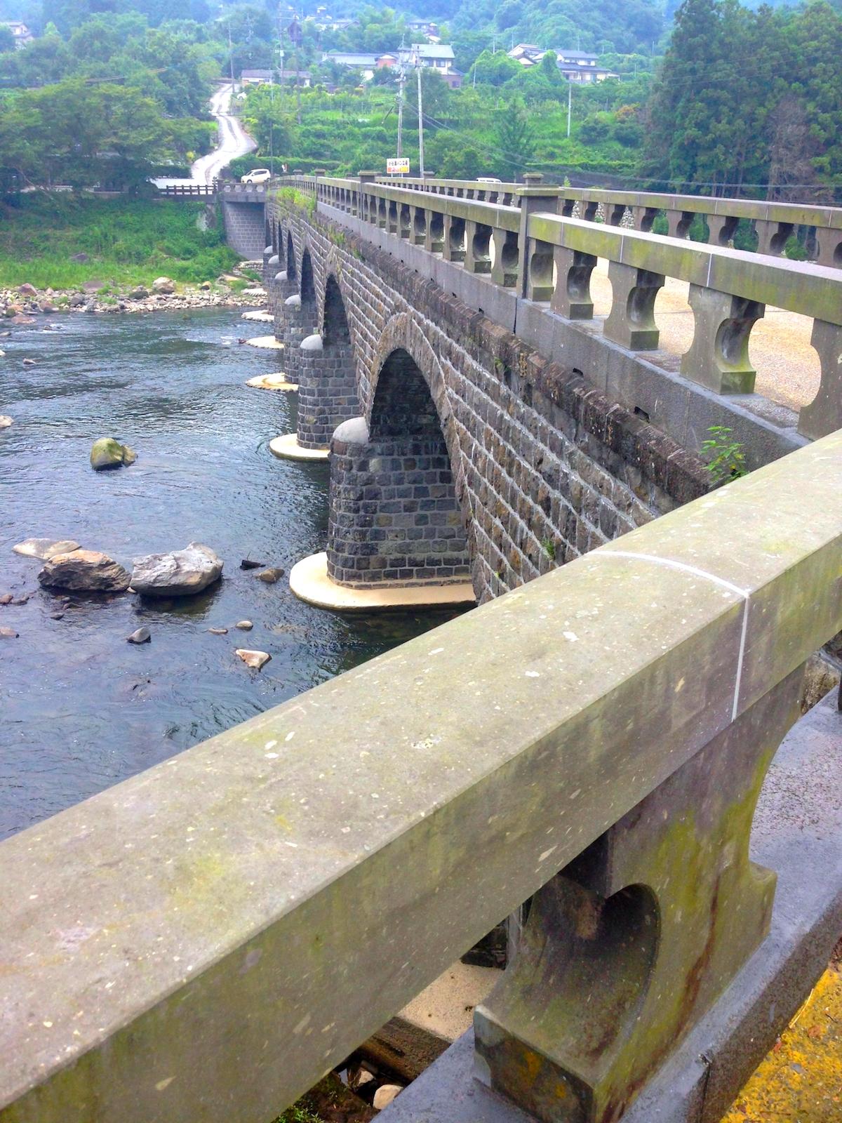 耶馬渓橋(オランダ橋)