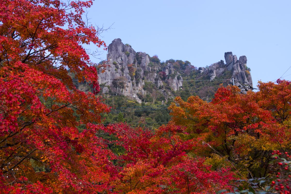 伊福の景(裏耶馬渓)