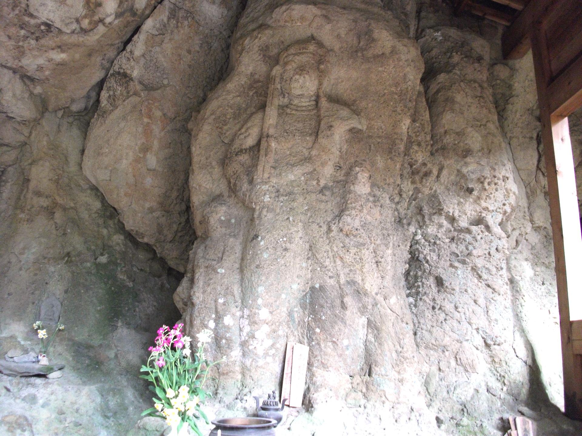 鍋山磨崖仏