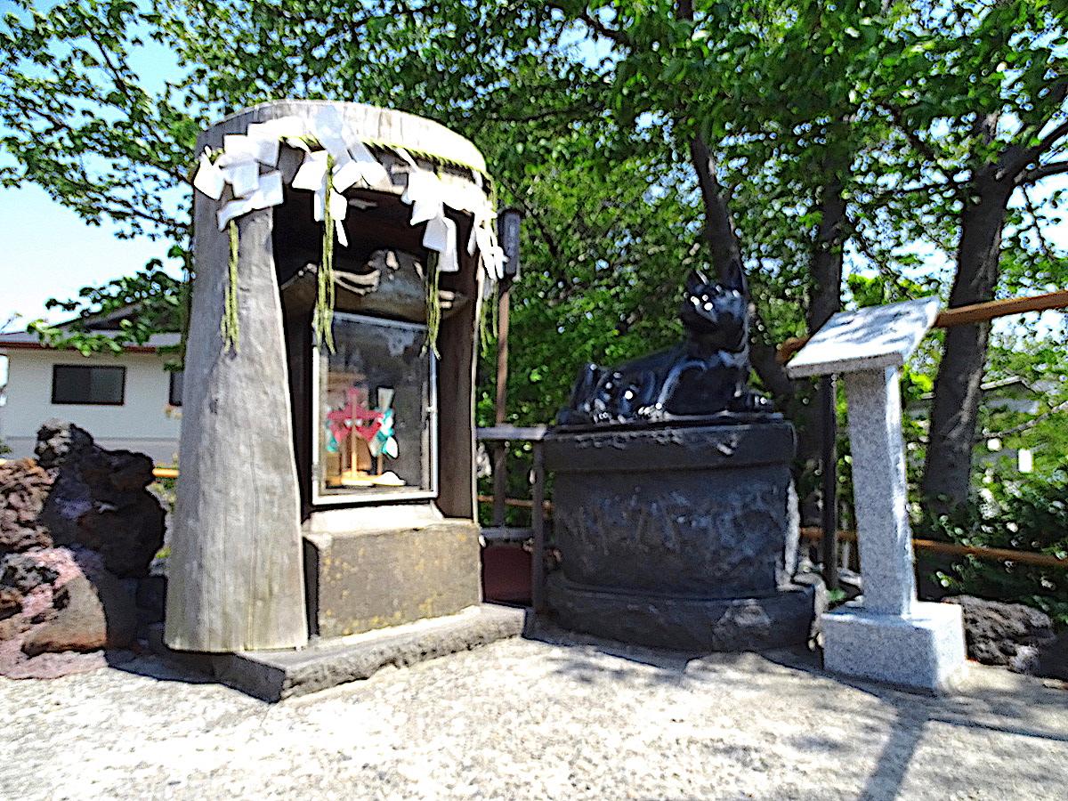 鎮守氷川神社(富士塚)