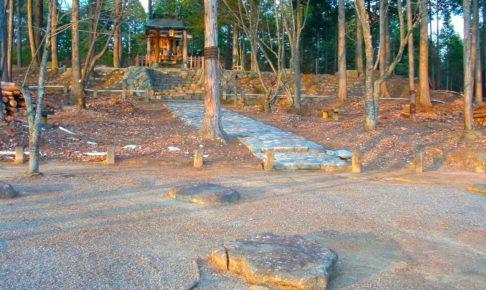 紫香楽宮跡(甲賀寺跡)