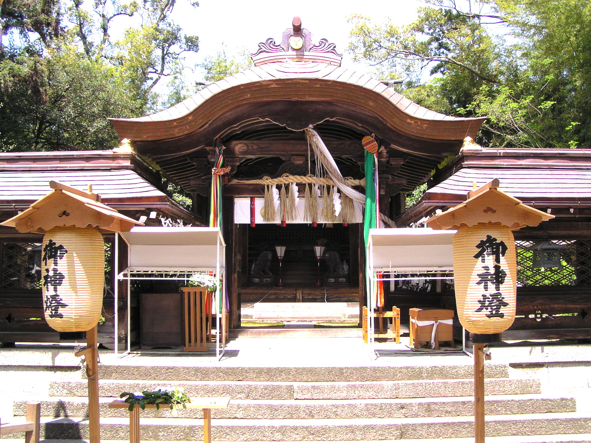 下新川神社