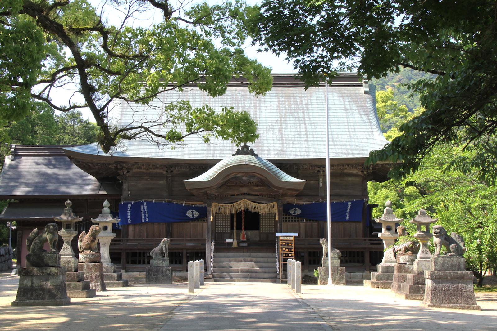 與止日女神社(河上神社)