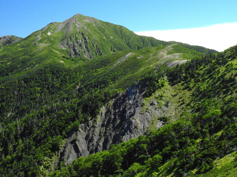 前聖岳(聖岳)