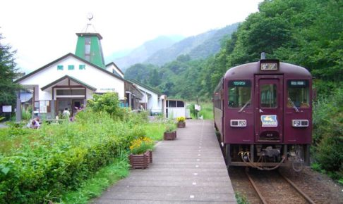 わたらせ渓谷鐵道・間藤駅