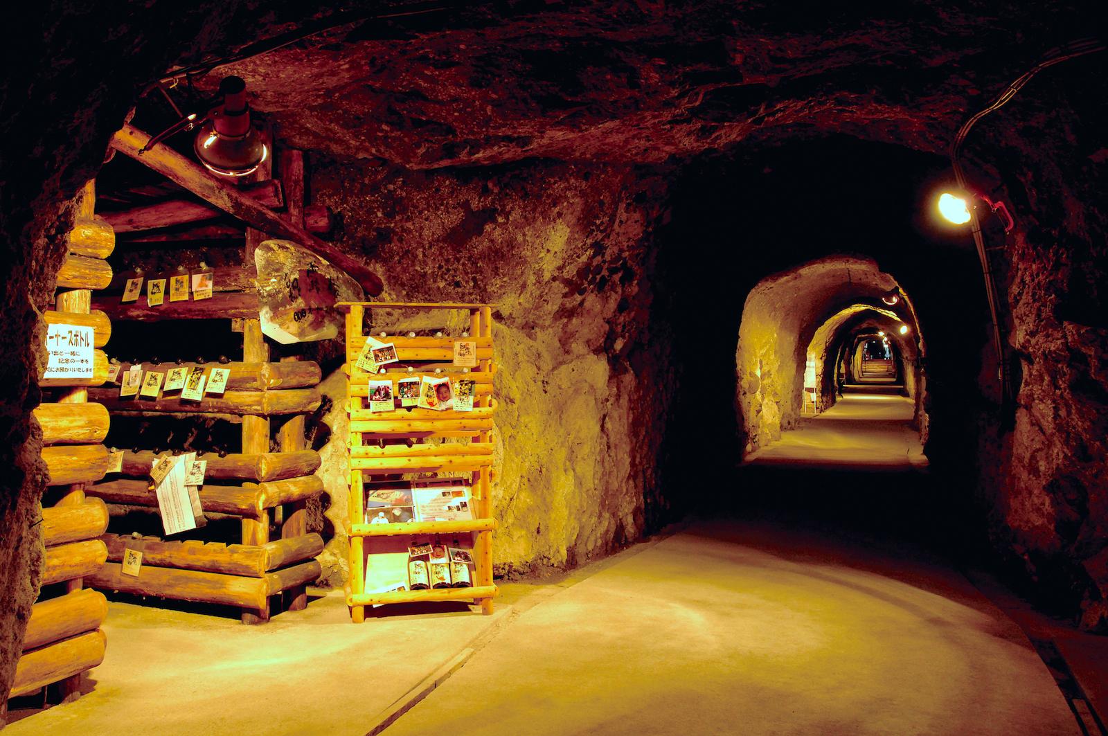 島崎酒造(洞窟酒蔵)