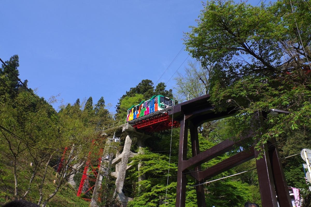 御岳登山鉄道ケ-ブルカー