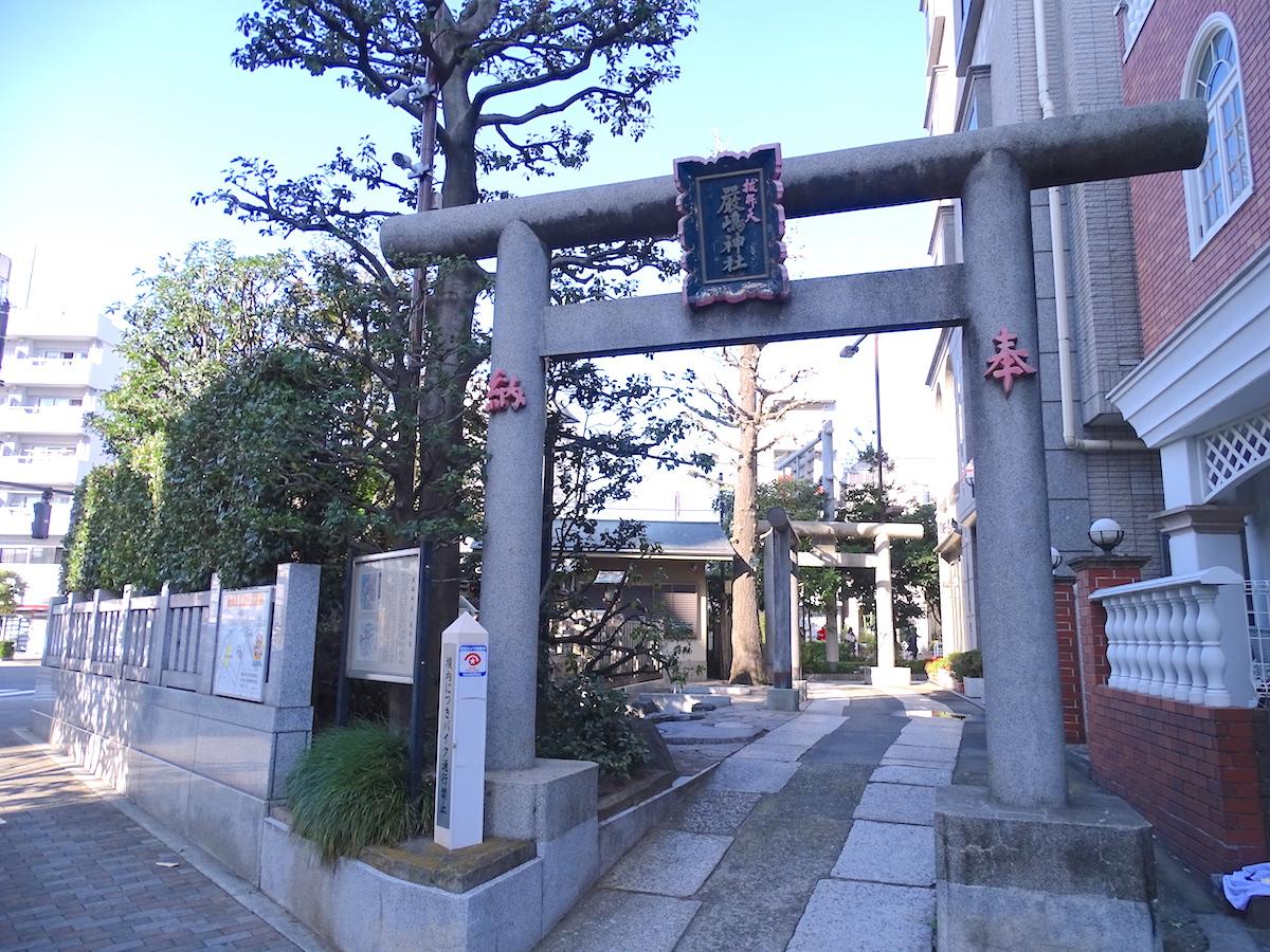 抜弁天(厳嶋神社)