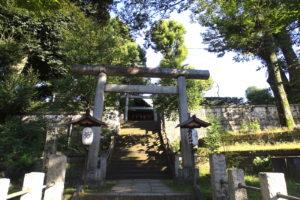 西向天神社