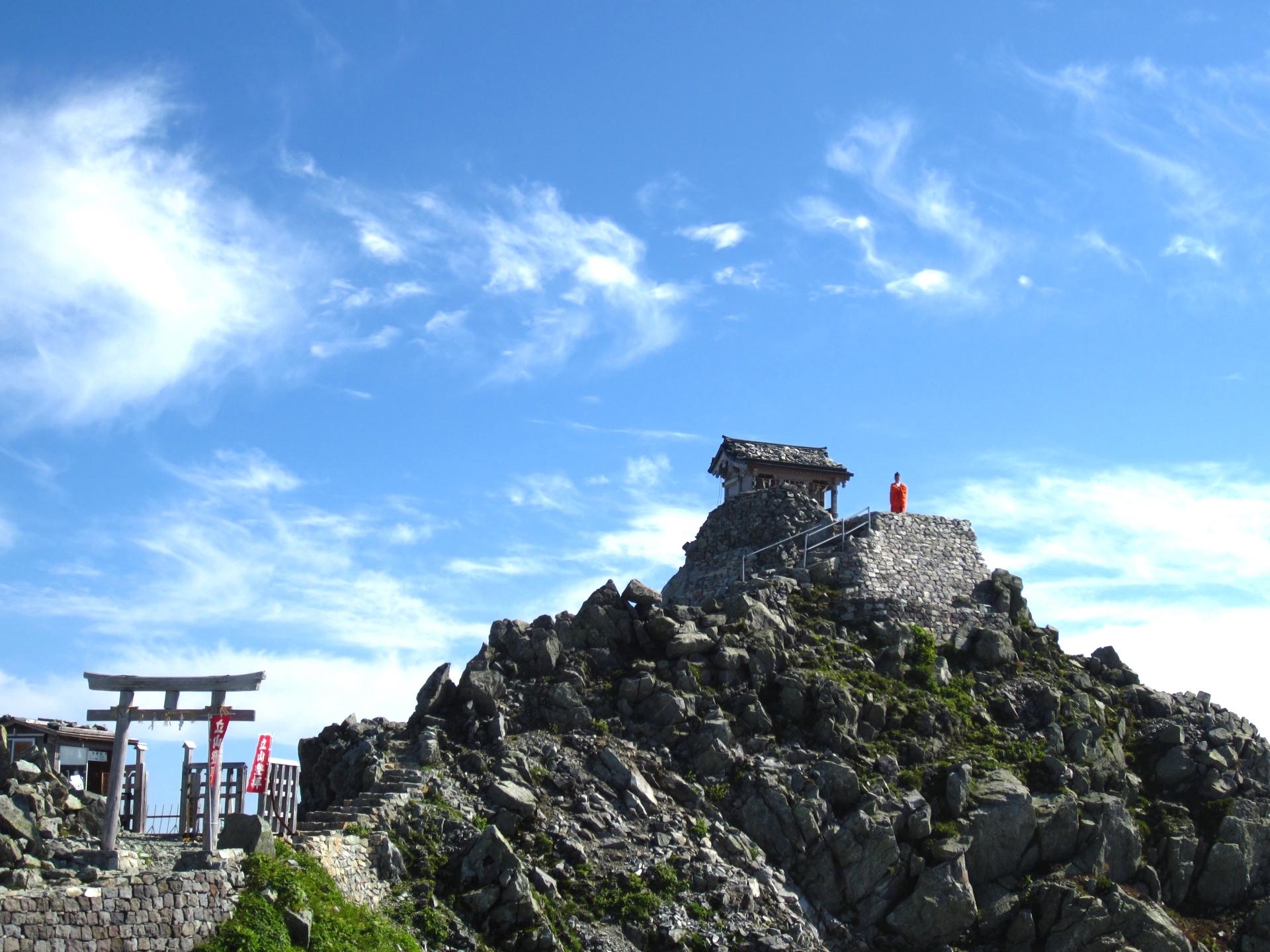 雄山神社・峰本社(雄山山頂)