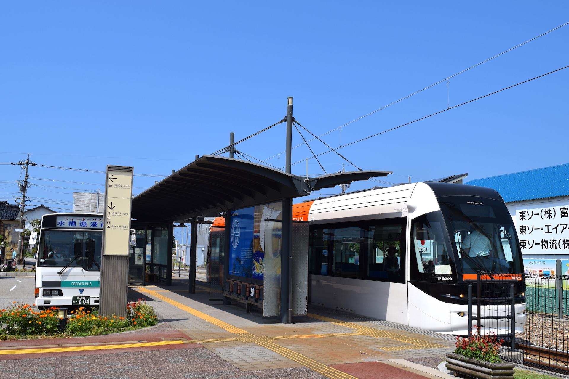 富山ライトレール・岩瀬浜駅