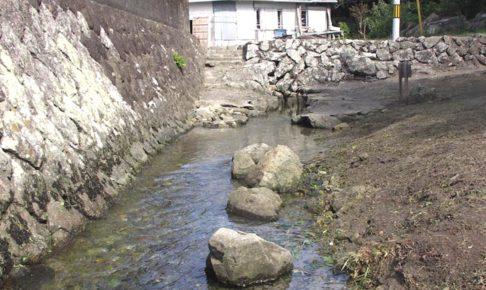 ぶつぶつ川