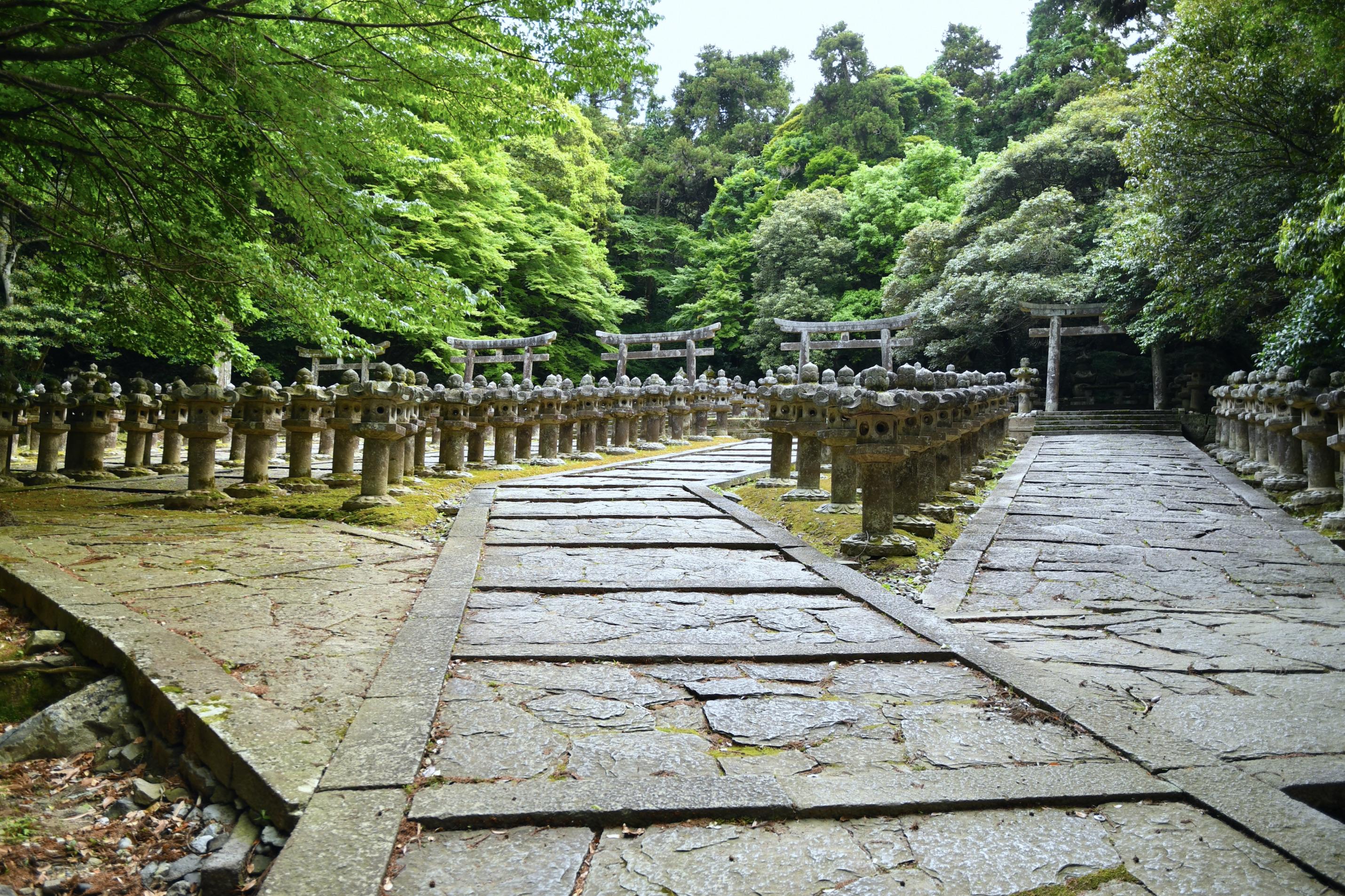 萩藩主毛利家墓所(大照院墓所)