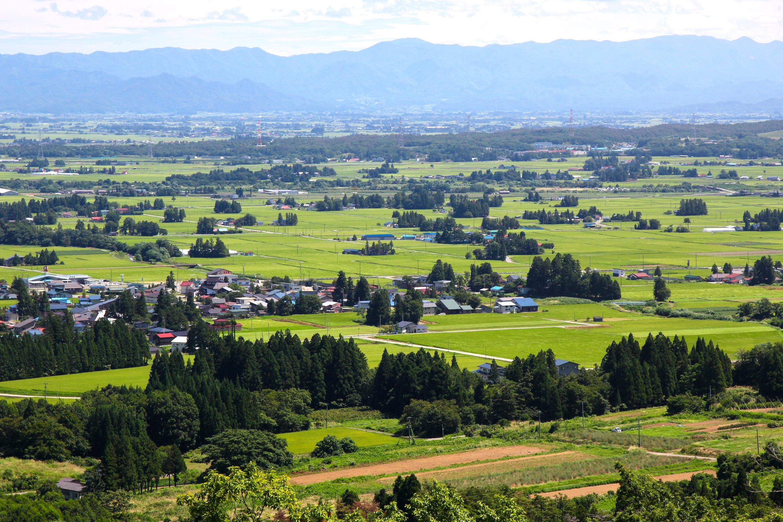 ホトケヤマ散居集落展望台