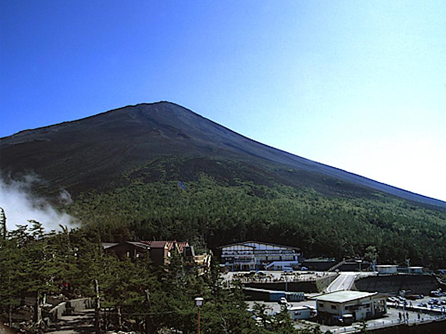 富士スバルライン五合目
