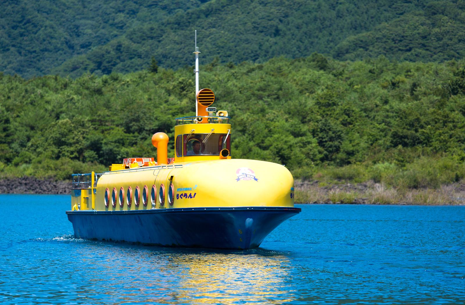 本栖湖遊覧船「もぐらん」