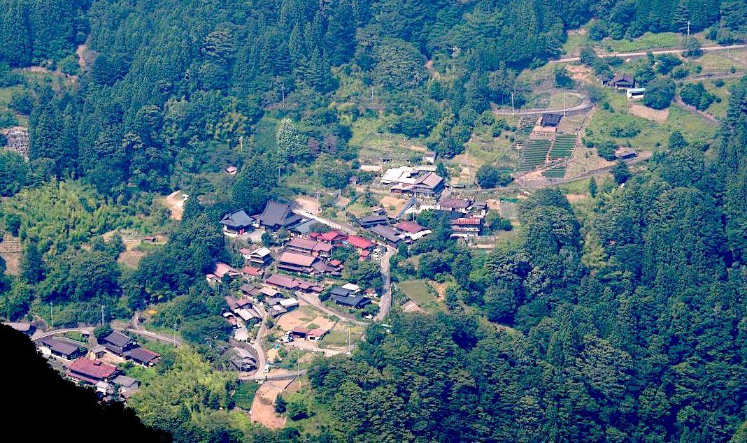 赤沢宿(赤沢重要伝統的建造物群保存地区)