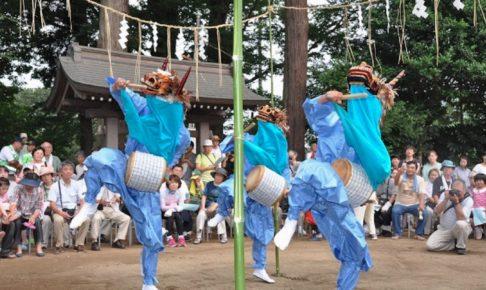 別所の獅子舞(印西市)