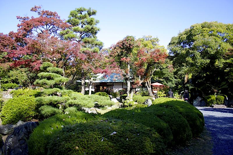 当時の那古野城は現在の名古屋城二の丸跡あたりにあった