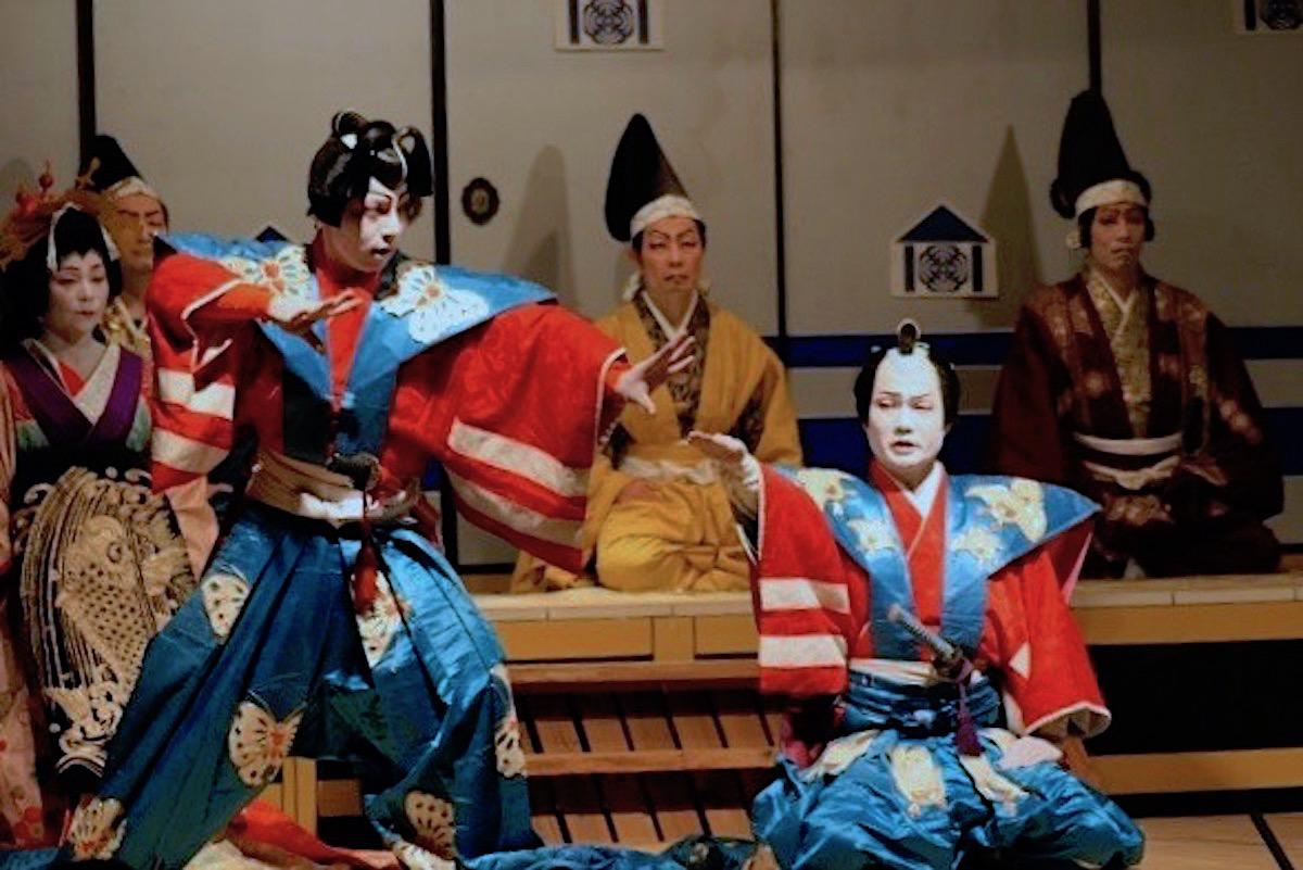 田峯観音『奉納歌舞伎』
