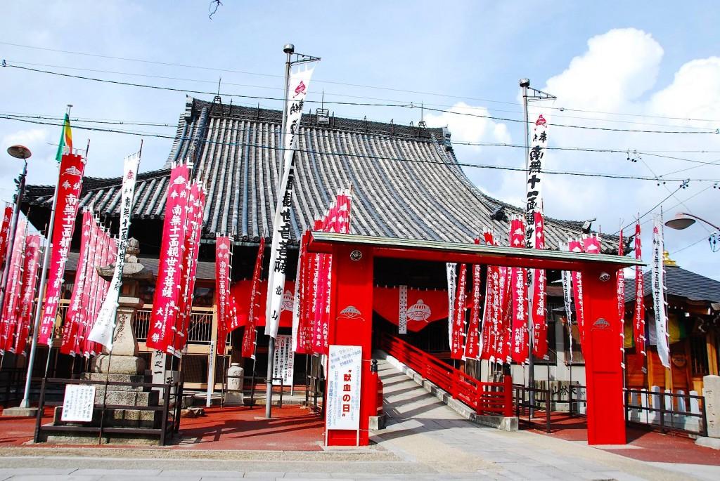 名古屋城を守る「尾張四大観音」のひとつ笠寺観音