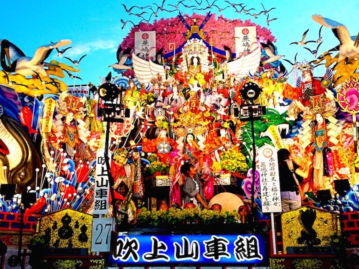 八戸三社大祭の山車行事