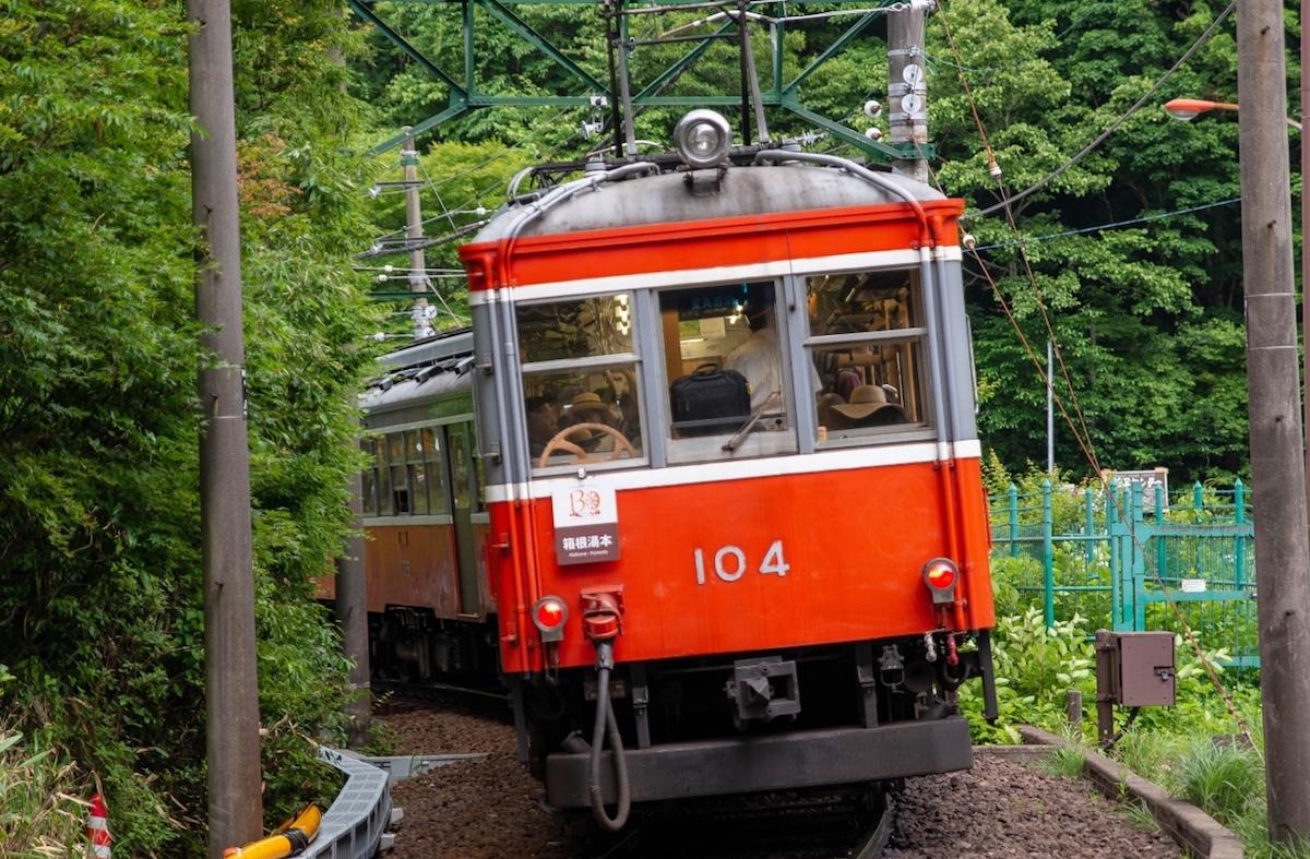 箱根登山鉄道104号