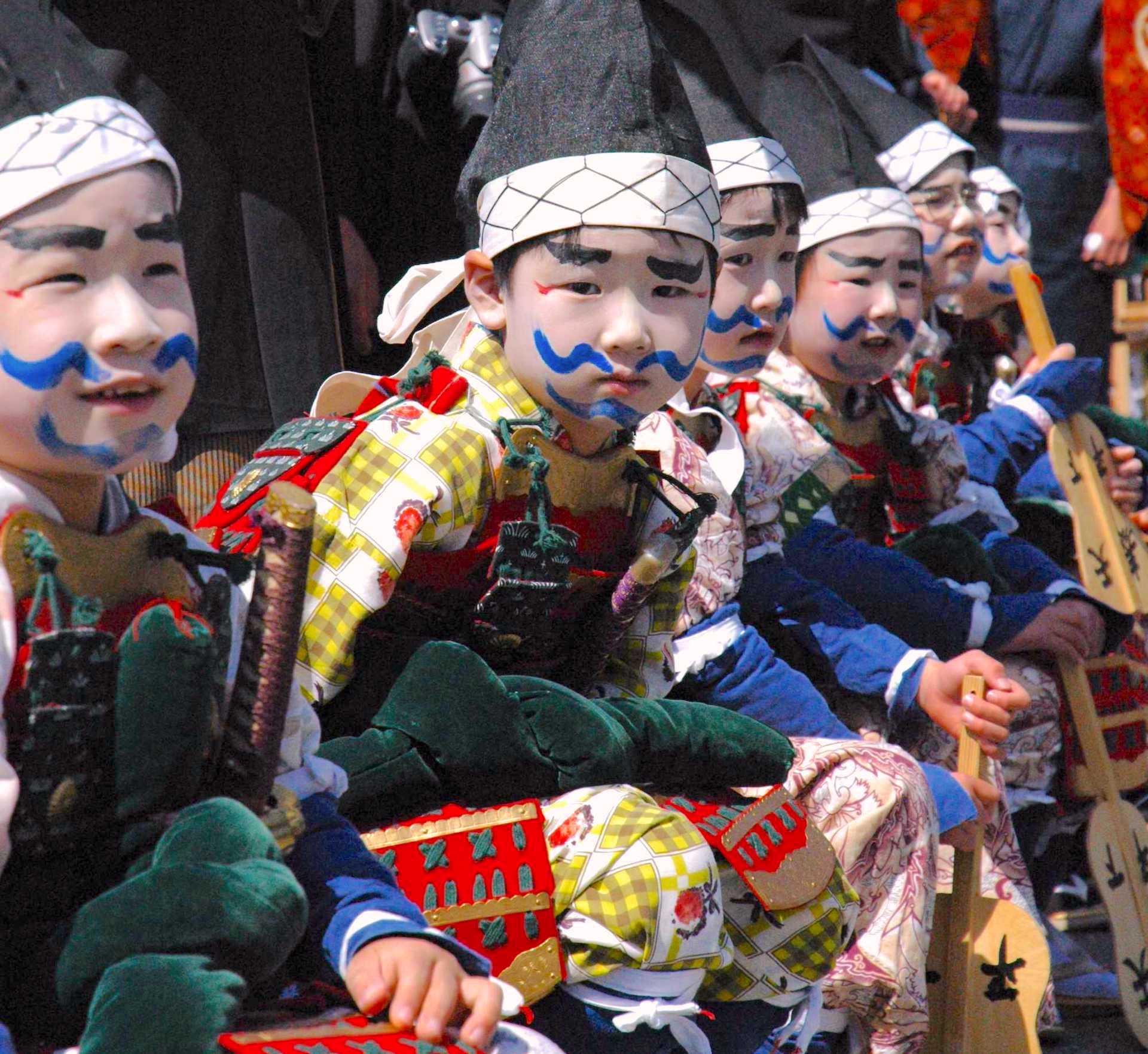 礒崎神社『磯武者行列』
