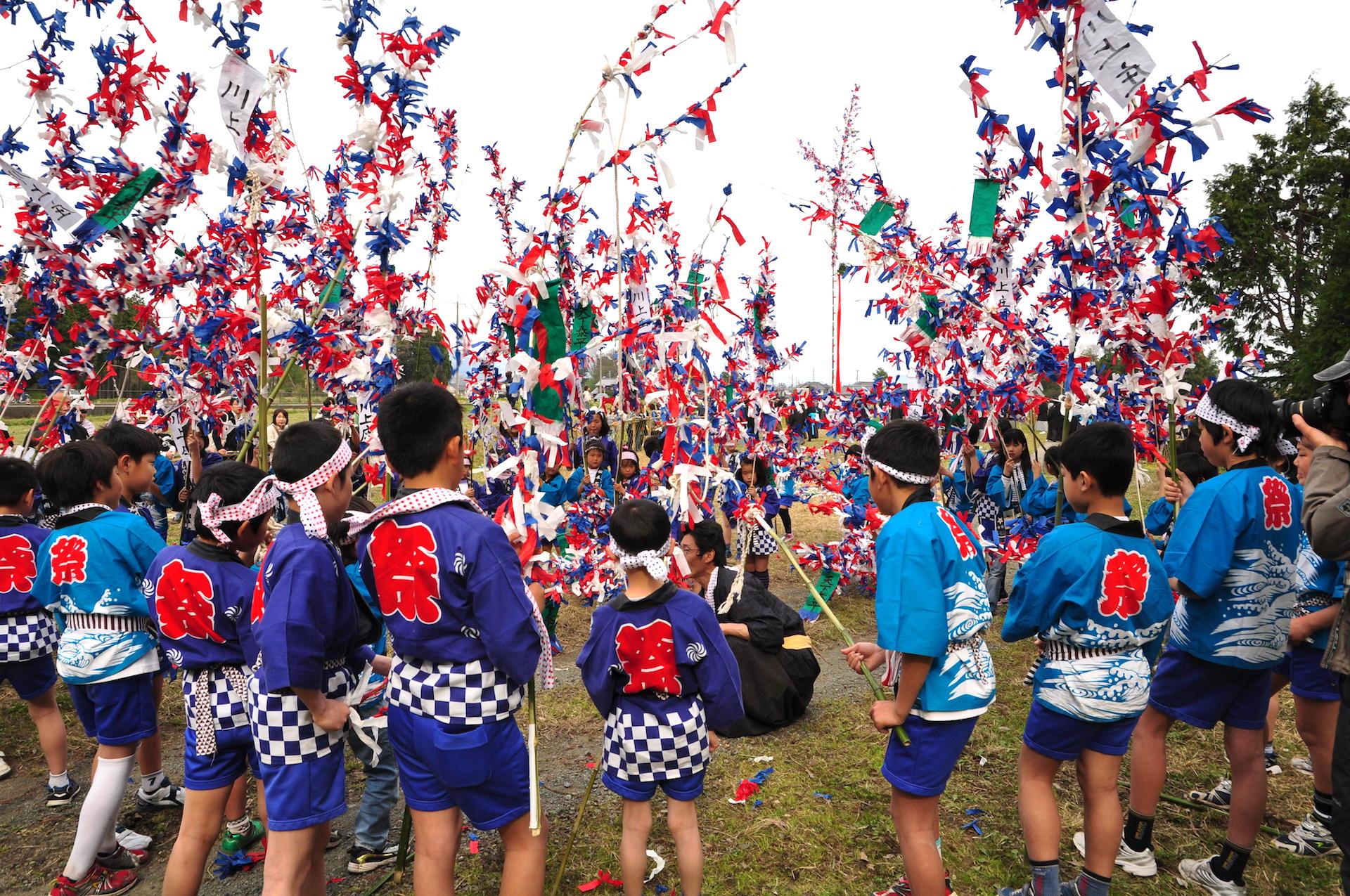 川上祭(サンヤレ祭)