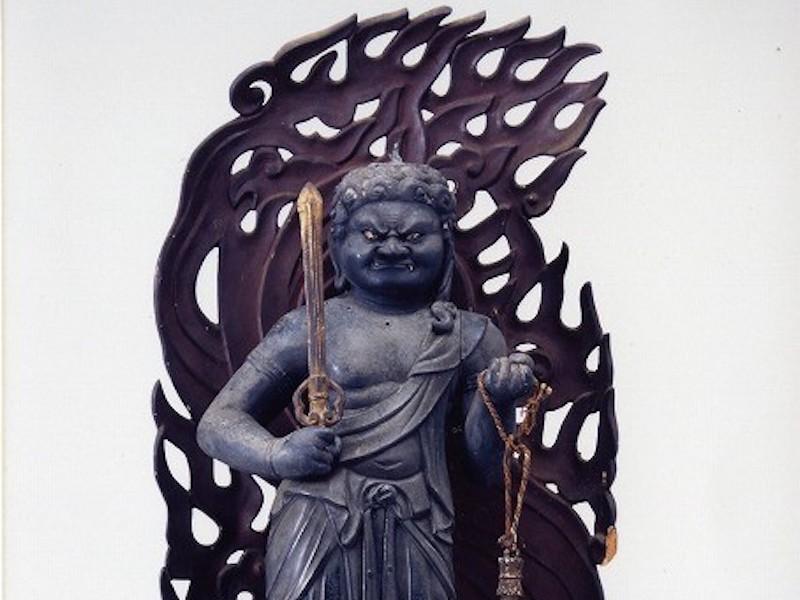 結縁寺『銅造不動明王立像ご開帳』