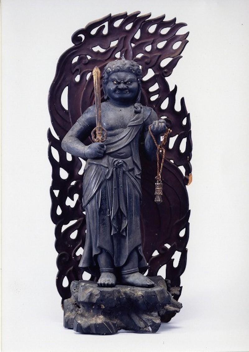 結縁寺『銅造不動明王立像御開帳』(千葉県印西市)
