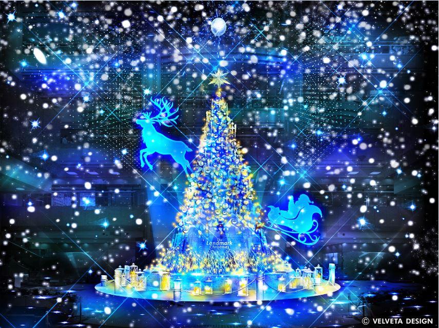 横浜ランドマークタワー The Landmark Christmas