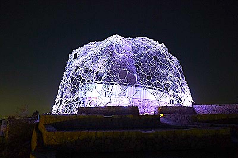 六甲山光のアート「Lightscape in Rokko」冬