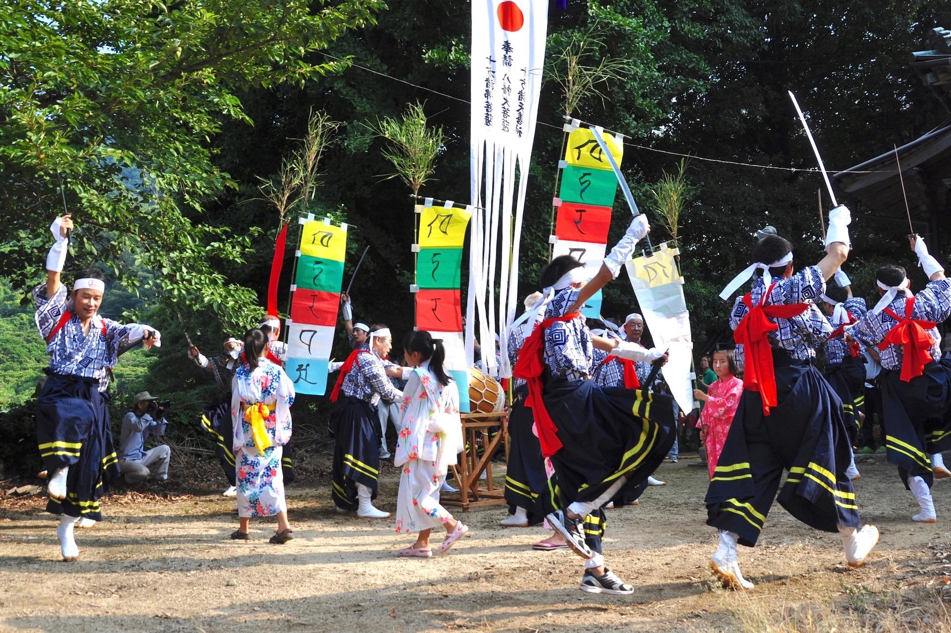 椋浦の法楽踊り