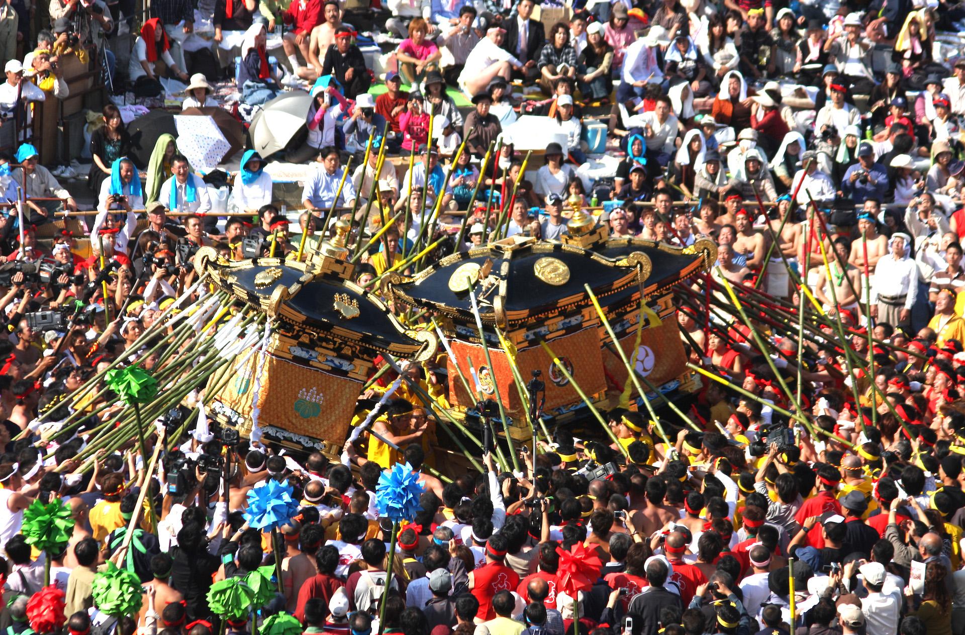 灘のけんかまつり(松原八幡神社秋季例祭)