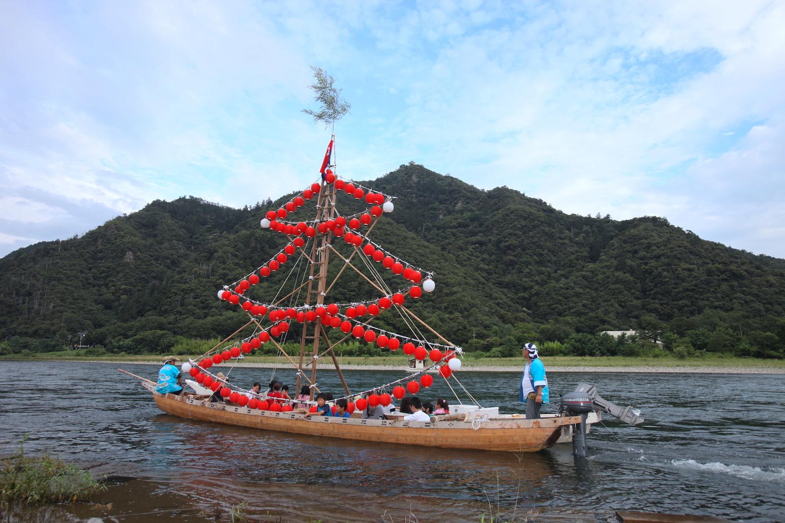 長良川まつり・鮎供養
