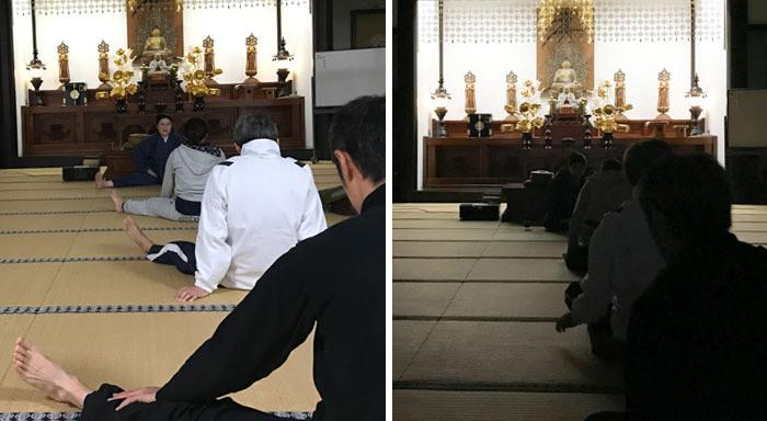 清澄寺宿坊体験 ヨガ・瞑想