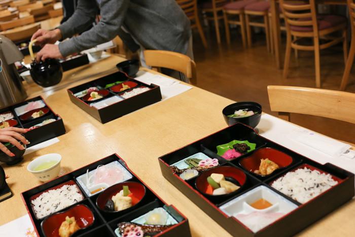 清澄寺宿坊の夕食