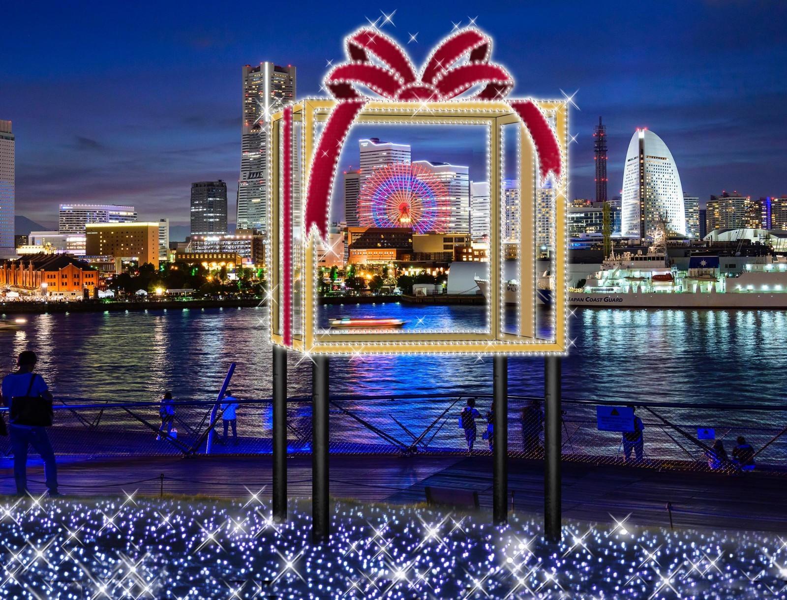 横浜港大さん橋『横浜港フォトジェニックイルミネーション』