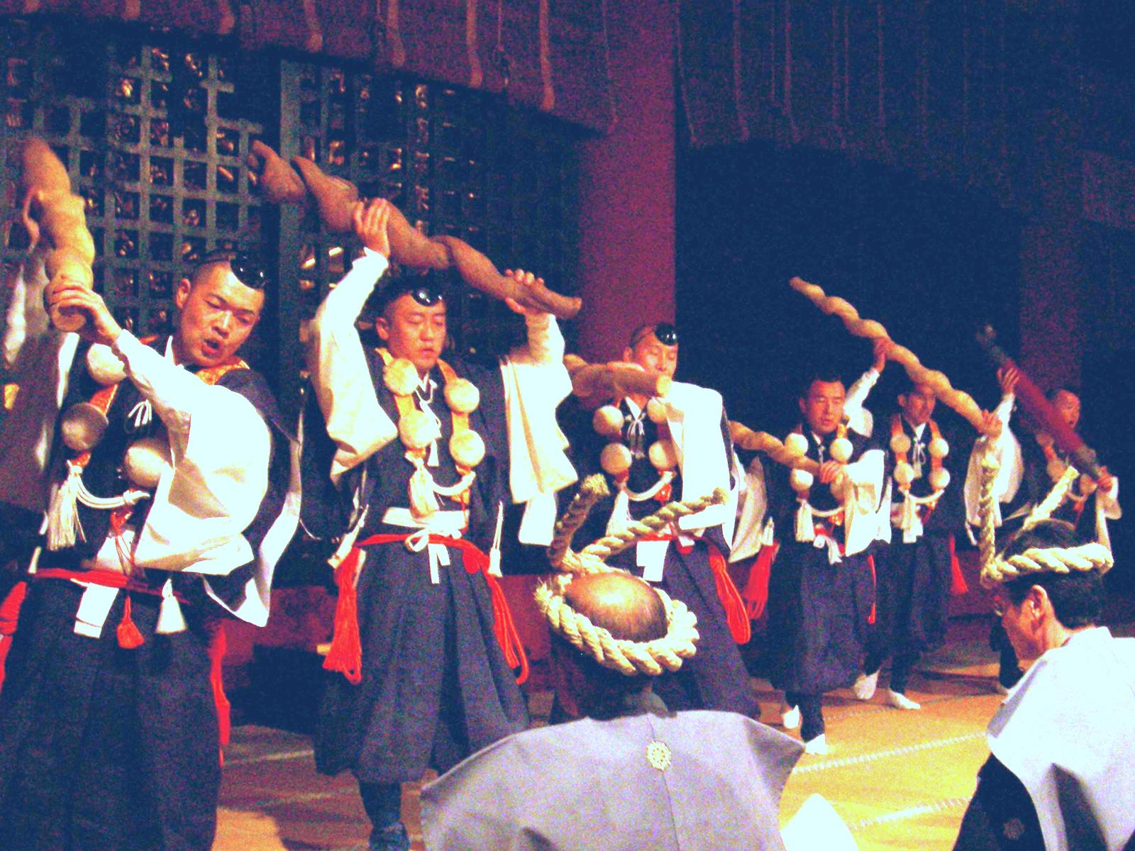 日光山輪王寺『強飯式』