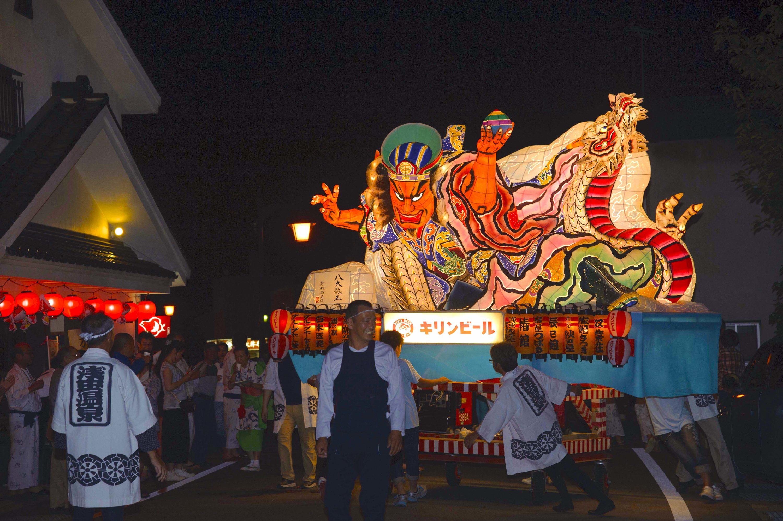 浅虫温泉ねぶた祭