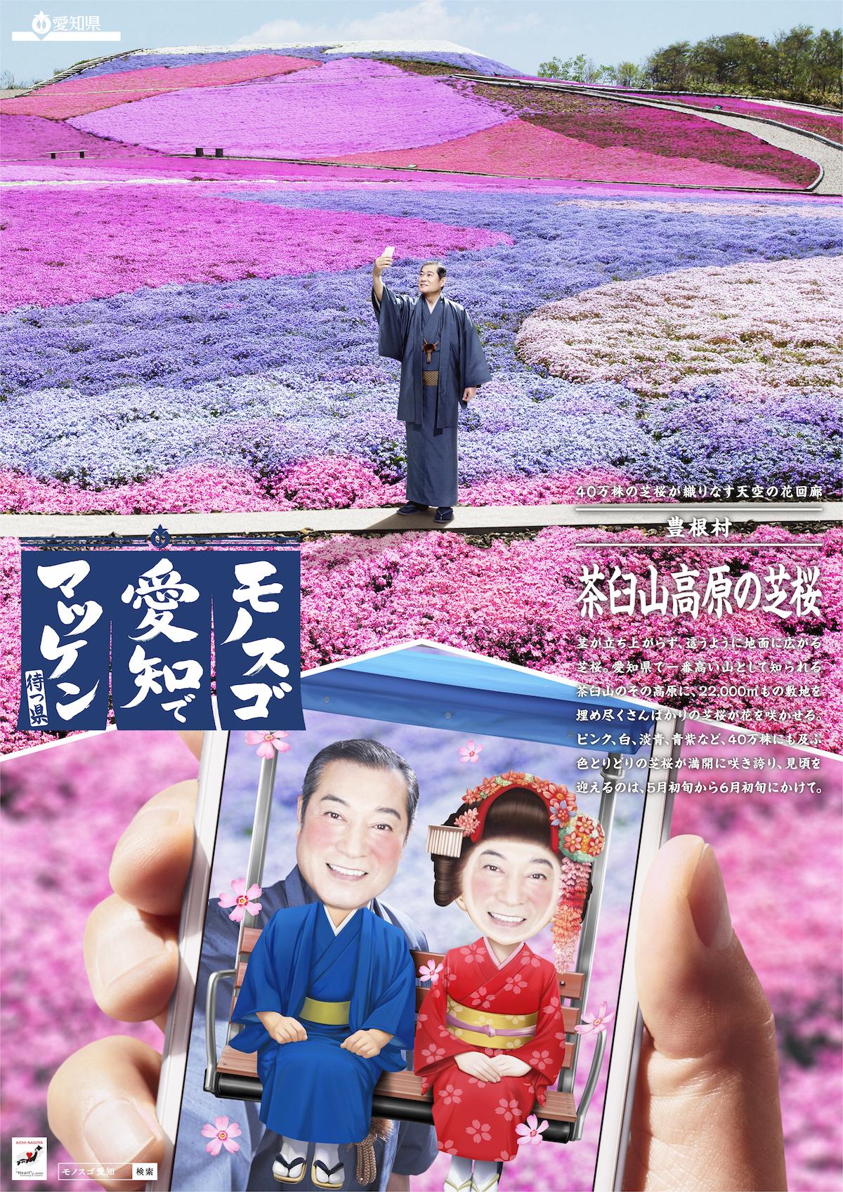 「茶臼山高原の芝桜」篇