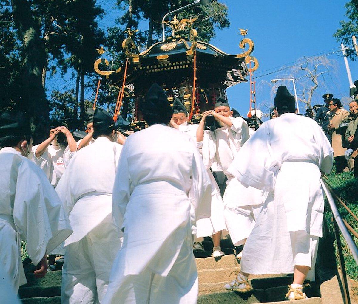 鹽竃神社『帆手祭』