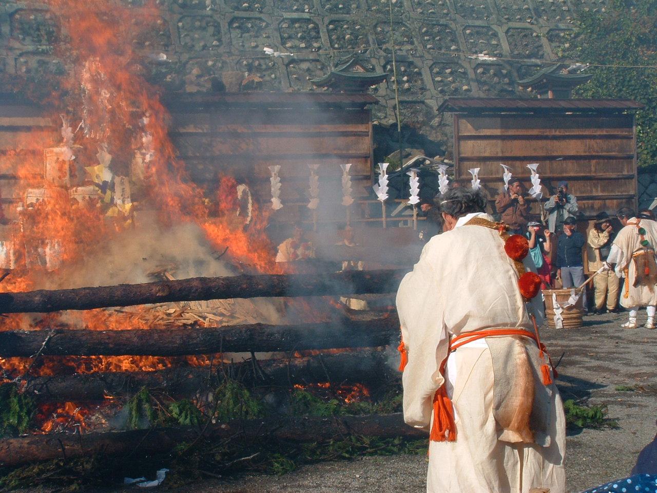 太郎坊宮『お火焚大祭』