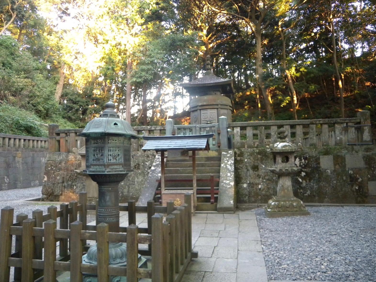 久能山東照宮の神廟(徳川家康墓所)